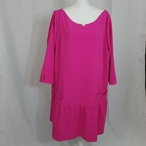 Pink with Pockets 3x Dress Victoria Beckam Target